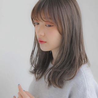 ゆるふわ フェミニン 大人かわいい 前髪あり ヘアスタイルや髪型の写真・画像