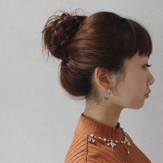 ショート ゆるふわ 簡単ヘアアレンジ フェミニン ヘアスタイルや髪型の写真・画像