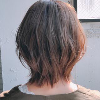 フェミニン ボブ デート 小顔ショート ヘアスタイルや髪型の写真・画像