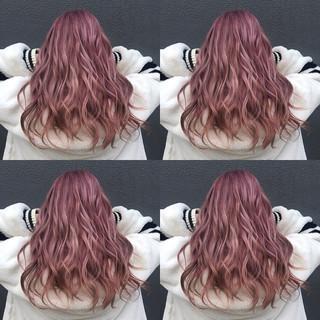 フェミニン ヘアカラー 透明感カラー 透明感 ヘアスタイルや髪型の写真・画像