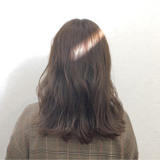 ブリーチ ウェーブ デート ゆるふわ ヘアスタイルや髪型の写真・画像