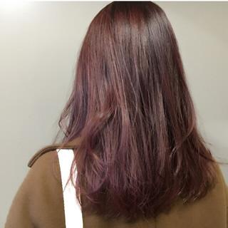 外国人風 色気 秋 レッド ヘアスタイルや髪型の写真・画像