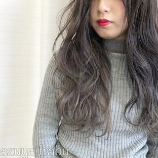 ラベンダーアッシュ アッシュ モード 外国人風カラー ヘアスタイルや髪型の写真・画像