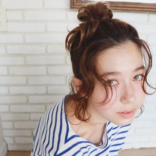 ヘアアレンジ 色気 簡単ヘアアレンジ 涼しげ ヘアスタイルや髪型の写真・画像