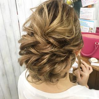 上品 女子力 結婚式 エレガント ヘアスタイルや髪型の写真・画像