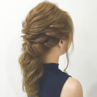 大人女子 ヘアアレンジ ゆるふわ 外国人風 ヘアスタイルや髪型の写真・画像