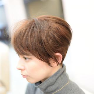 大人かわいい ショート 外国人風 モード ヘアスタイルや髪型の写真・画像