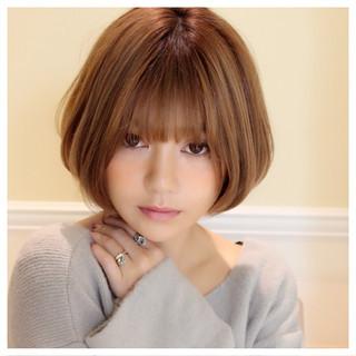 大人女子 こなれ感 ミルクティー アッシュ ヘアスタイルや髪型の写真・画像