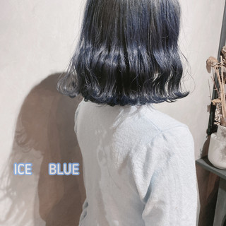 韓国ヘア ボブ 切りっぱなしボブ ナチュラル ヘアスタイルや髪型の写真・画像