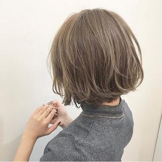 透明感 冬 アッシュ 秋 ヘアスタイルや髪型の写真・画像