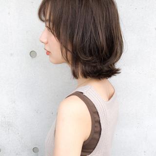 セミディ 大人かわいい ナチュラル 大人女子 ヘアスタイルや髪型の写真・画像