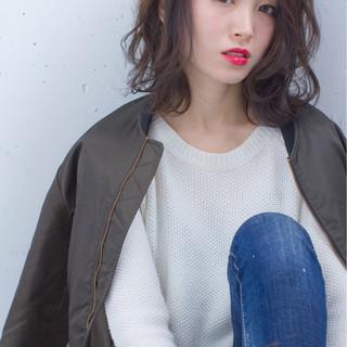 ボブ 外国人風 暗髪 ストリート ヘアスタイルや髪型の写真・画像