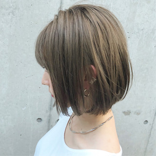 スポーツ ショート女子 デート ボブ ヘアスタイルや髪型の写真・画像