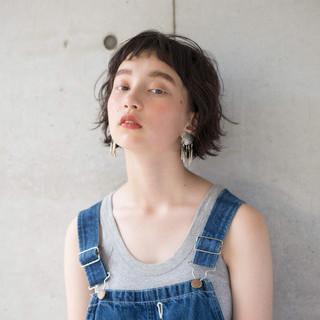 外ハネ 夏 ナチュラル 簡単 ヘアスタイルや髪型の写真・画像