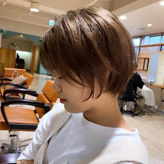 大人かわいい ショートボブ ショート ショートヘア ヘアスタイルや髪型の写真・画像
