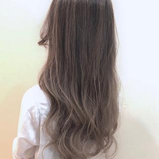 外国人風 エレガント 外国人風カラー ロング ヘアスタイルや髪型の写真・画像