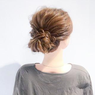 上品 結婚式 ロング デート ヘアスタイルや髪型の写真・画像