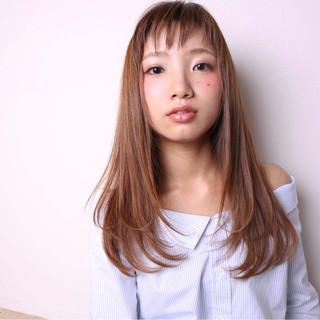 ロング 外国人風 アッシュ 大人かわいい ヘアスタイルや髪型の写真・画像