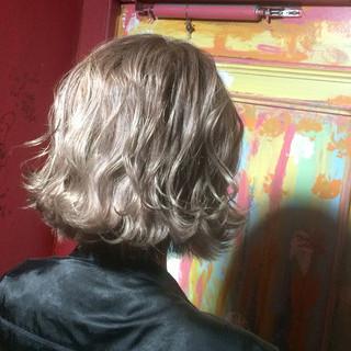 グラデーションカラー モード 外国人風 ボブ ヘアスタイルや髪型の写真・画像