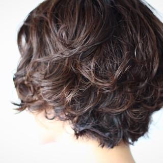 フェミニン ナチュラル 大人かわいい ボブ ヘアスタイルや髪型の写真・画像