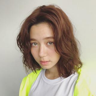 大人かわいい パーマ 外国人風 ストリート ヘアスタイルや髪型の写真・画像