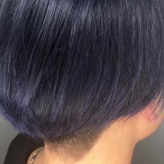 アッシュ ストリート ブリーチ ハイライト ヘアスタイルや髪型の写真・画像