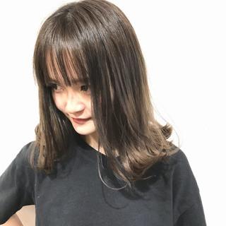 外国人風カラー ボブ ガーリー 外国人風 ヘアスタイルや髪型の写真・画像