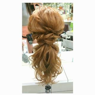 ゆるふわ 大人かわいい ヘアアレンジ 簡単ヘアアレンジ ヘアスタイルや髪型の写真・画像