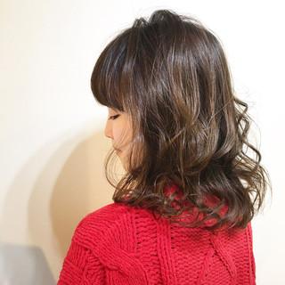 フリンジバング 色気 ボブ 大人女子 ヘアスタイルや髪型の写真・画像