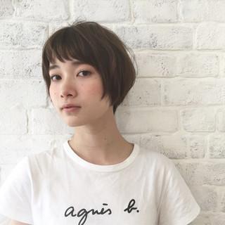 秋 大人女子 小顔 ナチュラル ヘアスタイルや髪型の写真・画像