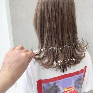 成人式 ミディアム ウルフカット ヘアアレンジ ヘアスタイルや髪型の写真・画像