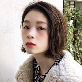 アンニュイほつれヘア デート モード アウトドア ヘアスタイルや髪型の写真・画像