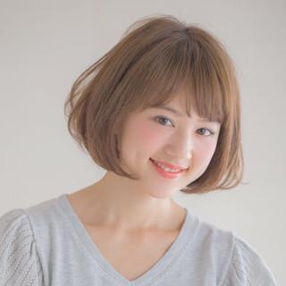 レイヤーカット ボブ モテ髪 簡単 ヘアスタイルや髪型の写真・画像