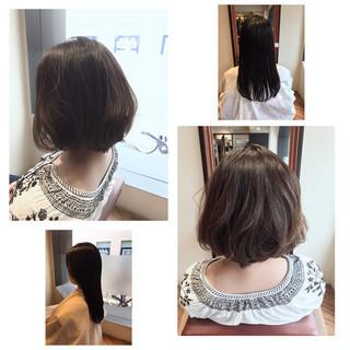 オフィス デート 秋 リラックス ヘアスタイルや髪型の写真・画像