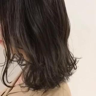 秋 ナチュラル アッシュ 透明感 ヘアスタイルや髪型の写真・画像