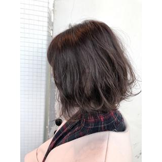 外国人風 ハイライト ヘアアレンジ ナチュラル ヘアスタイルや髪型の写真・画像