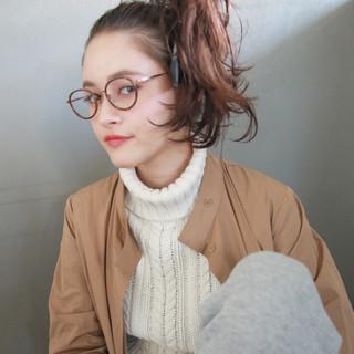 ショート 外国人風 ロング ヘアアレンジ ヘアスタイルや髪型の写真・画像