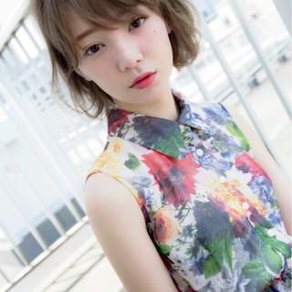 外国人風 ピュア 大人かわいい ゆるふわ ヘアスタイルや髪型の写真・画像