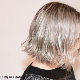 ストリート ボブ 色気 外国人風 ヘアスタイルや髪型の写真・画像