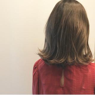 外国人風カラー ボブ ウェットヘア ハイライト ヘアスタイルや髪型の写真・画像