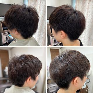 メンズショート ショートヘア ストリート メンズカット ヘアスタイルや髪型の写真・画像