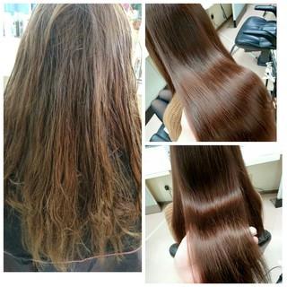 モテ髪 フェミニン 艶髪 ストレート ヘアスタイルや髪型の写真・画像