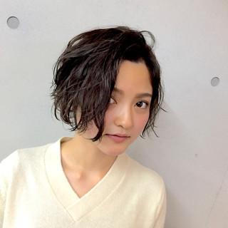 小顔 こなれ感 色気 ストリート ヘアスタイルや髪型の写真・画像