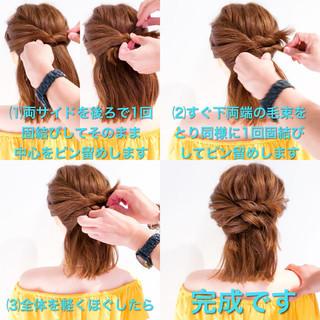 デート ロング オフィス ヘアアレンジ ヘアスタイルや髪型の写真・画像