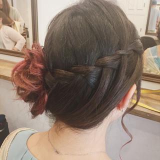 女子会 アップスタイル デート 結婚式 ヘアスタイルや髪型の写真・画像
