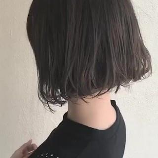 ボブ 外国人風 外ハネ モード ヘアスタイルや髪型の写真・画像