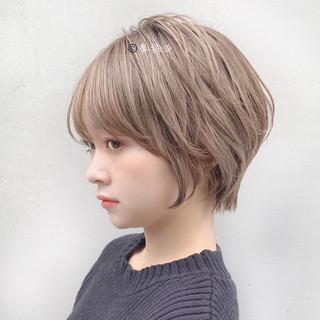 ショート ミニボブ ショートヘア ベリーショート ヘアスタイルや髪型の写真・画像