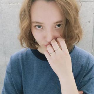 簡単 外国人風 グラデーションカラー ストリート ヘアスタイルや髪型の写真・画像