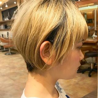 ショートヘア 大人かわいい ストリート ショート ヘアスタイルや髪型の写真・画像