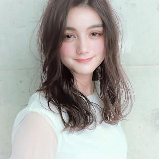ゆるふわ ロング モテ髪 冬 ヘアスタイルや髪型の写真・画像